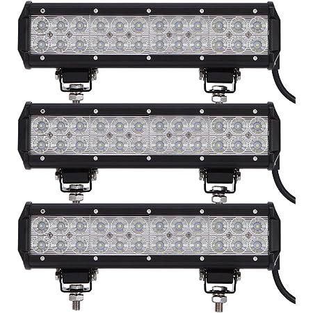 Leetop 2x 90w Led Arbeitsscheinwerfer Ip67 Flutlicht Reflektor Work Light Bar Offroad Traktor Scheinwerfer Arbeitslicht Arbeitslampe 12v 24v Auto