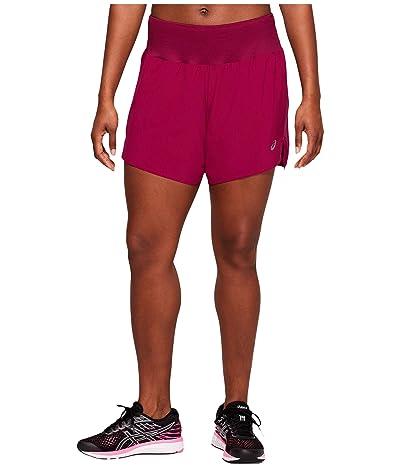 ASICS Road 5.5 Shorts (Dried Berry) Women