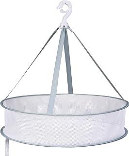 アストロ 平干しネット 1段 中 約直径48cm グリーン 物干しネット 洗濯ハンガー 型崩れ防止 821-28