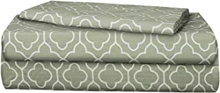 AURAA ESSENTIAL 100% Long Staple Cotton Sheet Set - Twin Sheets - 3 Piece Set,Soft & Smooth Percale Weave,16