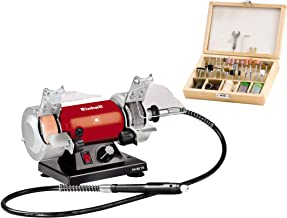 Einhell TH-XG 75 Kit esmeriladora Mini Taladro, 120 W, 230 V, Disco 75x20x10 mm (ref. 4412560)