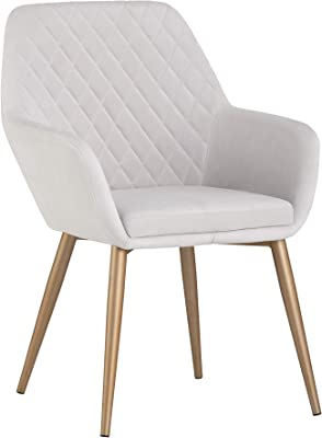 Amazon.com - Divano Roma Furniture Set of 2 Dining Chairs ...