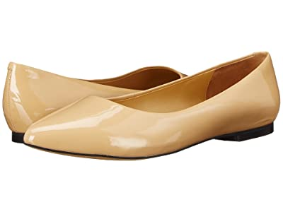 Trotters Estee (Nude Soft Patent Leather) Women