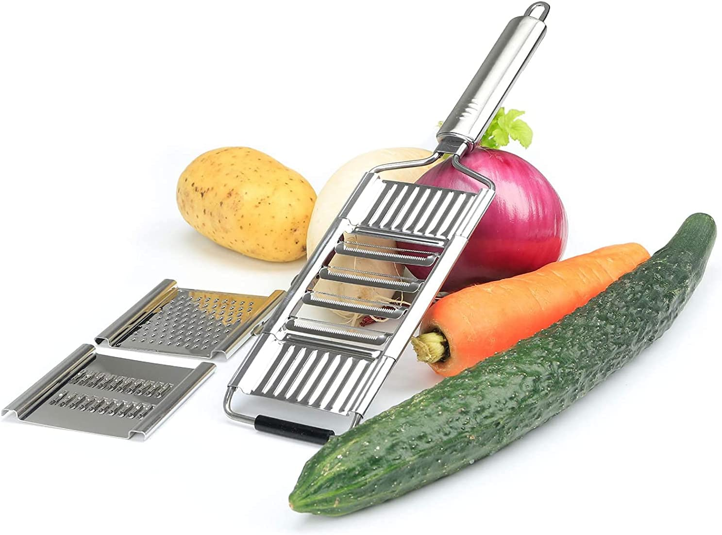 3-In-1 Stainless Steel Multifunctional Vegetable Cutter National uniform free shipping Cheese Arlington Mall