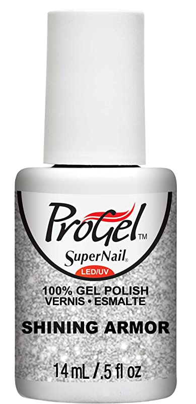 イベント飼料工業用SuperNail ProGel Gel Polish - Shining Armor - 0.5oz/14ml