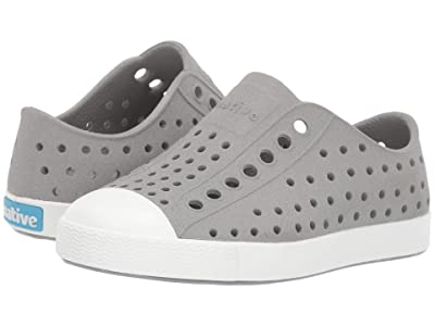 Native Kids Shoes Jefferson Reflective (Toddler/Little Kid) (Pigeon Reflective/Shell White) Kid