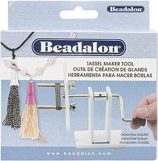 Beadalon 216S-100 7mm O.D. Pegs Tassel Maker, 2.5-9.7cm