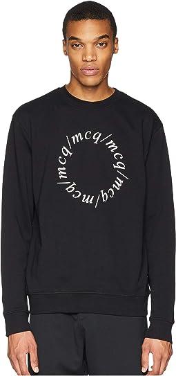 Circular Logo Sweatshirt