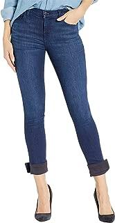 J Brand Womens 811 Mid-Rise Skinny Jeans in Nebula