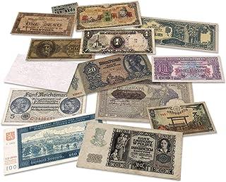 IMPACTO COLECCIONABLES World War 2 - 14 Original Banknotes 1939-1945 WW2 - Allies and Axis