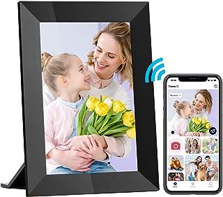 Hyjoy Digitale fotolijst, wifi, digitale fotolijst met IPS-touchscreen, HD-display, 8 GB geheugen, eenvoudig in te stellen...