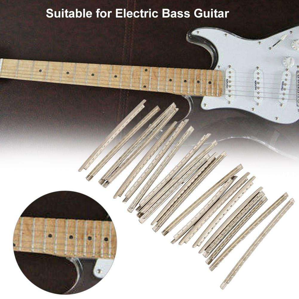 21pcs alambre de traste 2,7 mm Fret para Guitarra Bajo Eléctrico ...