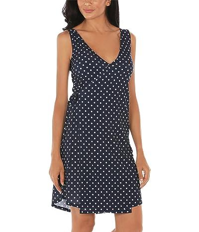 Nautica Dot Dress Cover-Up