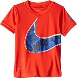 Muddy Swoosh Dri-FIT Short Sleeve Tee (Toddler)