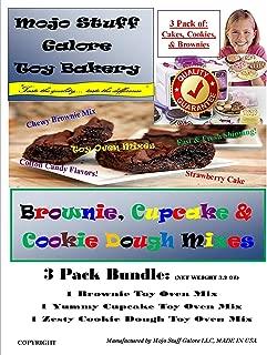 Mojo Stuff Galore Ultimate Easy Bake Oven Mixes Brownies Cupcake Cake Refill