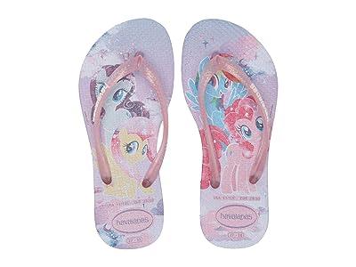 Havaianas Kids Slim My Little Pony Flip-Flop (Toddler/Little Kid/Big Kid) (Lavender) Girls Shoes