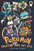 Pokémon Coloring Book For Kids Vol. 11: Babies, Evolutions of Gen. 7 Pokémons!