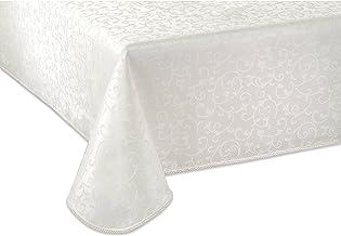 "Lenox Opal Innocence Tablecloth, 60""x102"" Oblong, White"