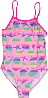 Just Love Girls' Fringe One Piece Bathing Suit