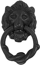 Lion Door Knocker Iron Matte Finish Authentic Renovator's Supply Rust Resistant Finish
