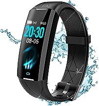 Fitness Tracker ELEGIANT Fitnessarmband Smartwatch Armbanduhr Sportuhr Smart Watch für Damen Herren mit Herzfrequenz Schla...