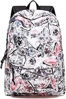 Cute Lightweight Unicorn Backpacks Girls School Bags Kids Bookbags (Color : White)