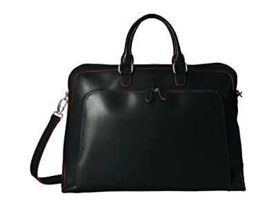 Lodis Accessories Audrey RFID Brera Briefcase With Laptop Pocket (Black RFID) Briefcase Bags