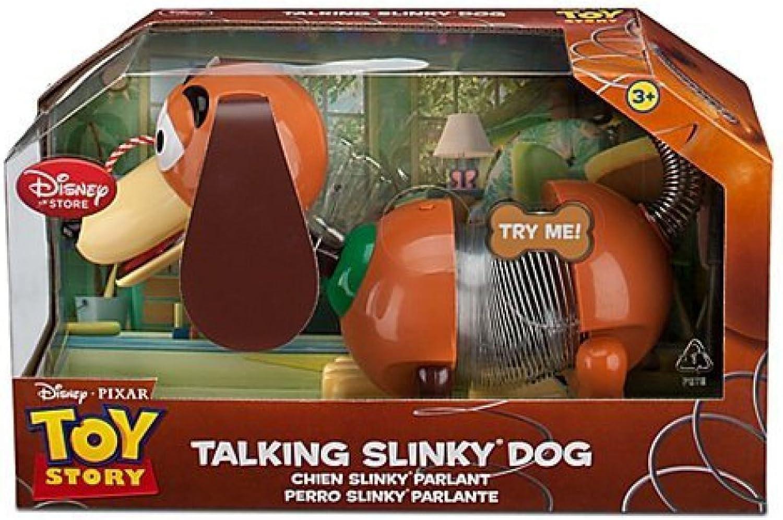NEW Disney TALKING Pull String Toy Story Slinky Dog - Woody, Buzz, Jessie Friend by Disney