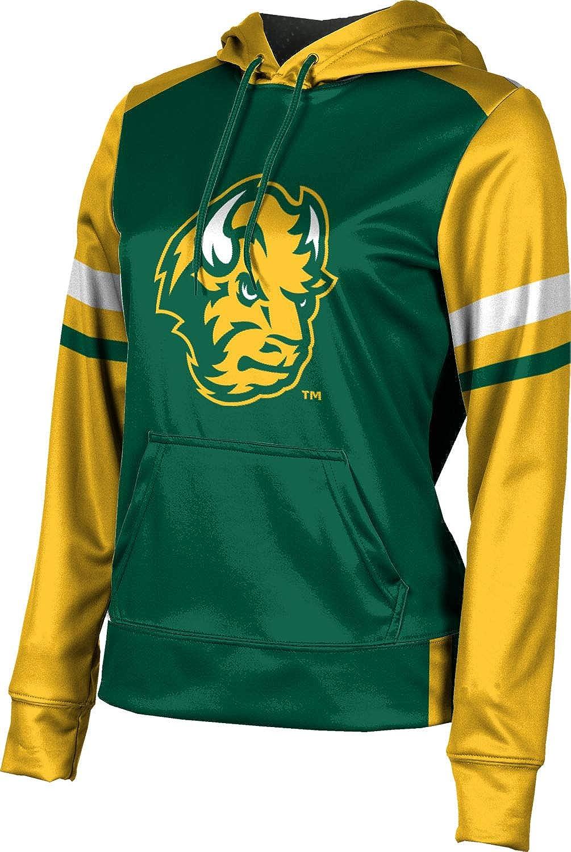 North Dakota State University Girls' Pullover Hoodie, School Spirit Sweatshirt (Old School)