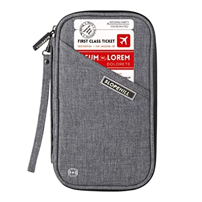 Slopehill Passport Holder RFID Blocking Travel ...