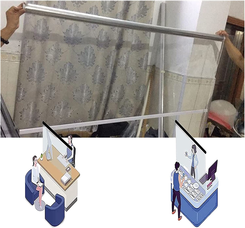 Max 62% OFF WZNING Transparent Waterproof Curtain Shop Plastic Divider wholesale 0.5m
