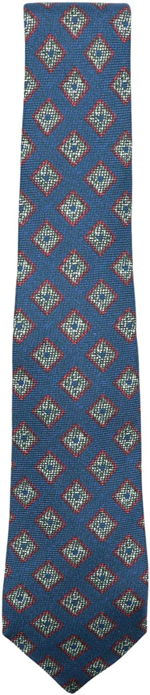Kiton Napoli Men's Geometric Diamond Necktie