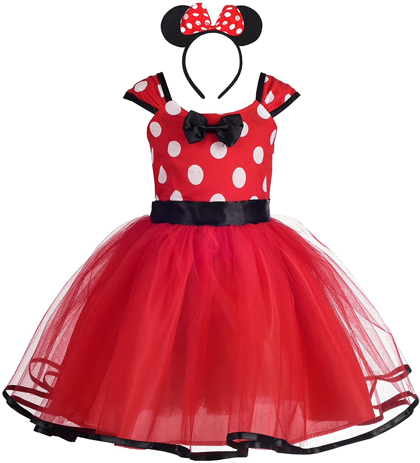 Max 44% OFF Dressy Daisy A surprise price is realized Baby Toddler Girl Polka Costume Dress Dots Fancy Up