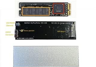JZLL Macbook Air Pro Retina 2013 2014 SSD External Enclosure Case, Usb3.0 Interface,unique!