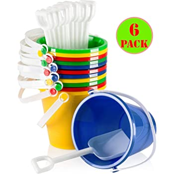 Beach Buckets And Spades Rainbow Of Colours Whole Sale Bulk Buy Quantities