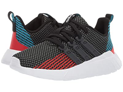 adidas Kids Questar Flow (Little Kid/Big Kid) (Core Black/Grey Six/Active Red) Kid