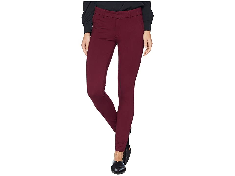 KUT from the Kloth Mia Ankle Skinny Jeans with Front Faux Pockets in Wine (Wine) Women