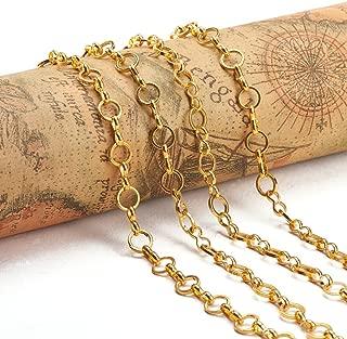 handmade brass chain