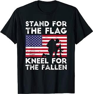 Patriotic Military American Flag T Shirt For Men Women Kids