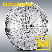 21X3.5 Fat Spoke Tubeless Wheel for Harley Touring Bagger fits 00-18 models