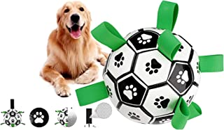 Handing Dog Toys Soccer Ball for Small &Medium Dogs,...