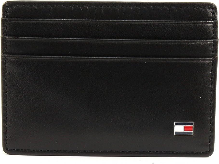 Tommy Hilfiger Men's Eton Leather Card Holder