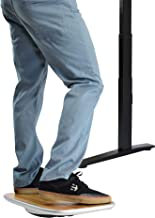 Standing Desk Balance Board. Best Under-Desk Wobble Stability Rocker Platform for The Active Office. Ergonomic sit Stand up Fidget Accessories Furniture Products 360 Full Range of Motion