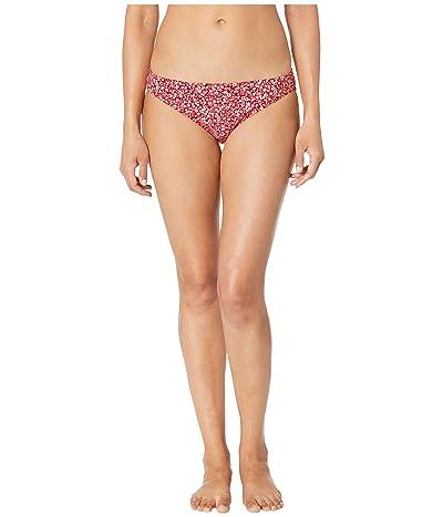 MICHAEL Michael Kors Shadow Floral Classic Bikini Bottoms (Terracotta) Women
