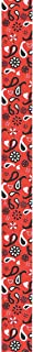 Offray, Red Bandana Twill Craft Ribbon, 1/2-Inch x 9-Feet