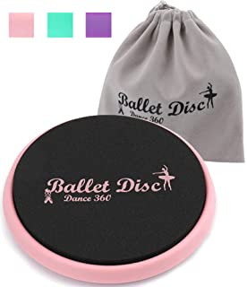 Ballet Turn Disc, Dance Disc for Dancers, Gymnastics and Ice Skaters- Portable Spin Turning Board with Carrying Bag - Imp...
