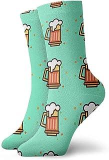 Jhonangel, Equipo de calcetines de espuma de cerveza para hombres, mujeres, niños, trekking, rendimiento, exteriores 30 cm