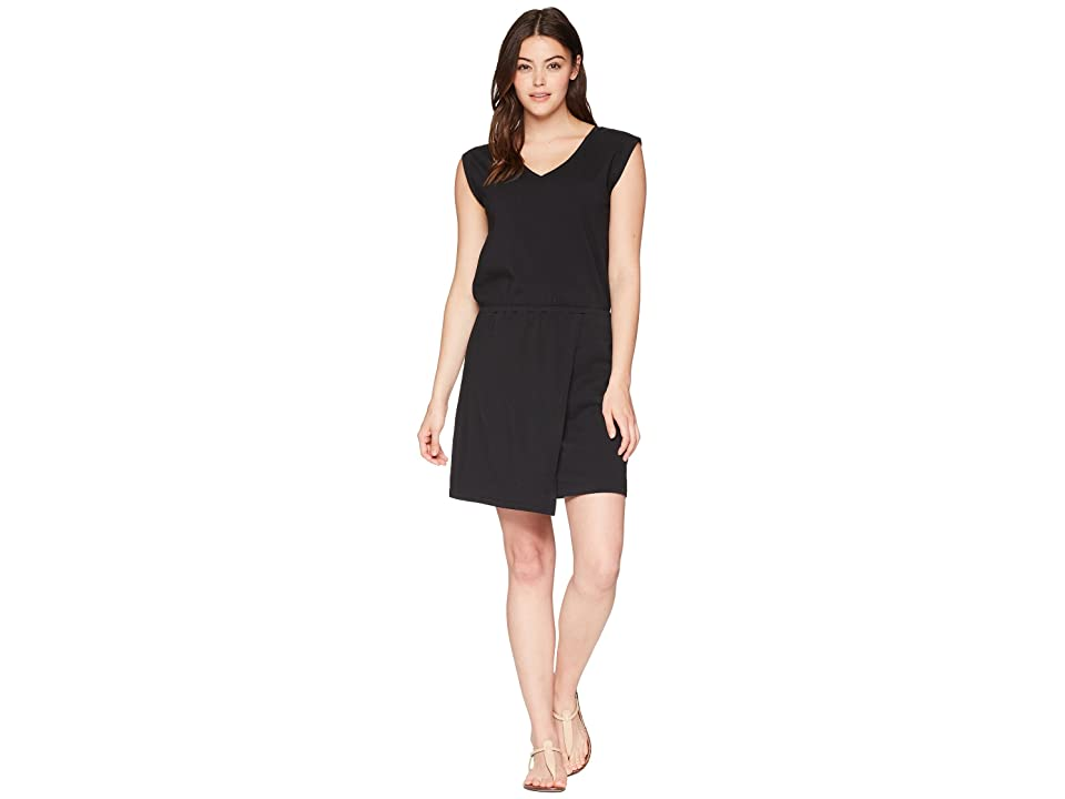 NAU Wrapture Dress (Caviar) Women
