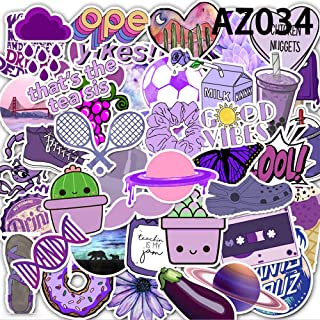 Stickers for Water Bottles,50 Pcs Stickers Pack,Colorful Waterproof Stickers for Laoptop, Flask, Water Bottle, Guitar, Tra...