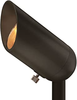 Hinkley Landscape Lighting Bronze Cast Spot Light – Spotlight Important Landscape Features and Increase Home Security, 50 Watt Maximum Spot Light, Bronze Finish, 1536BZ MR16